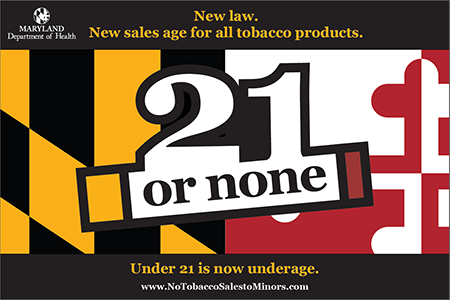 Under 18- no tobacco products